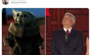 baby yoda, amlo, twitter, redes sociales