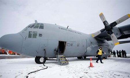 Chile, avión, fuerza aérea, Antártica