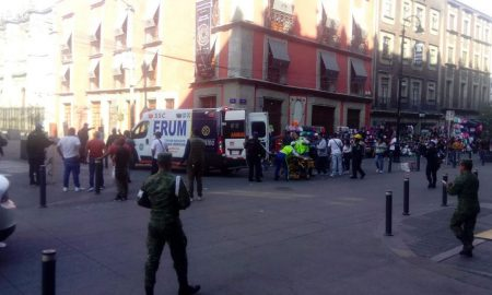 balacera, CDMX, Palacio Nacional