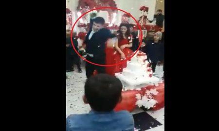 boda, novia, novio, violencia