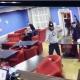 pelea restaurante
