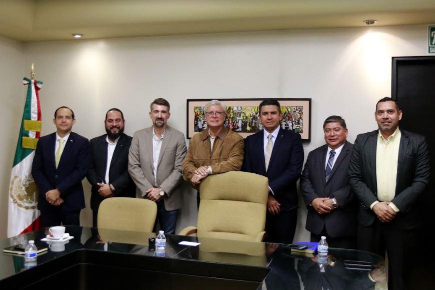 Jaime Bonilla, cónsules, Centroamérica, migrantes, migración, Baja California