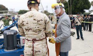 Jaime Bonilla, armas de fuego, Baja California, ejército