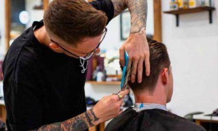violencia, peluquería, corte de cabello