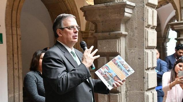 marcelo ebrard, bolivia, expresidente de bolivia, mexico