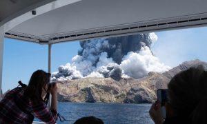 Nueva Zelanda, volcán, erupción, muertos, heridos, desaparecidos