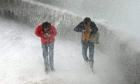 Francia, España, Portugal, tormenta