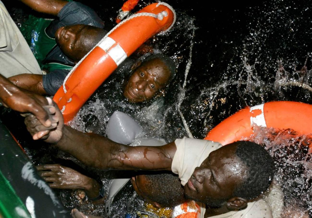 naufragio, migración, migrantes muertos