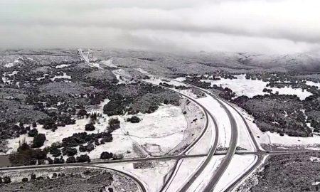 nevada, nieve, clima, autopista, San Diego