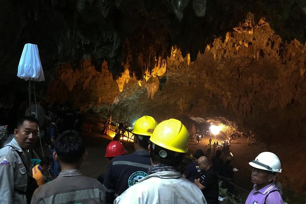 Tailandia, cueva, rescate, menores de edad, militar