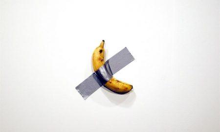 plátano, obra de arte
