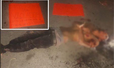 violador tortura asesinato narcomensaje