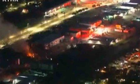 Explosión, Industrial, Texas