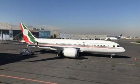 Avion presidencial - AMLO