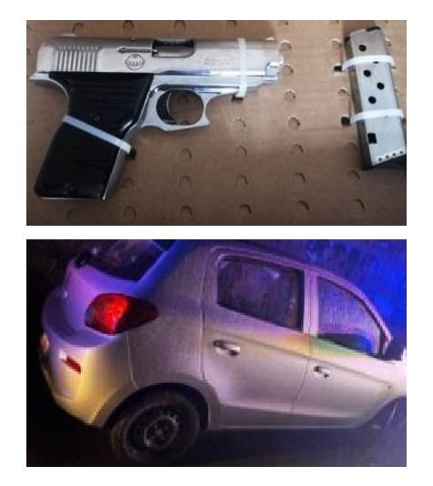 detenido, arma de fuego, Colonia Altamira,