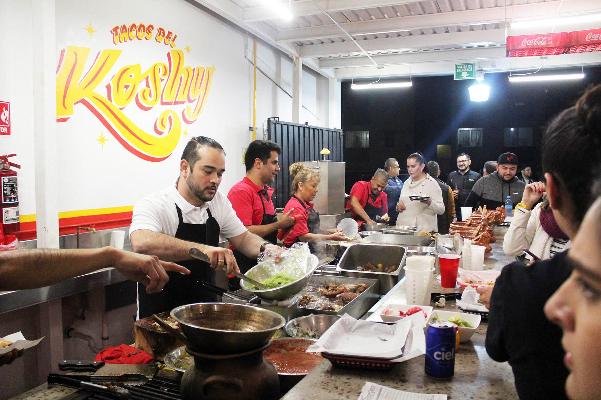 Turismo gastronómico,La Cacho,tacos