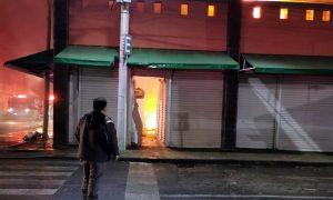 Incendio - Xochimilco - Mercados