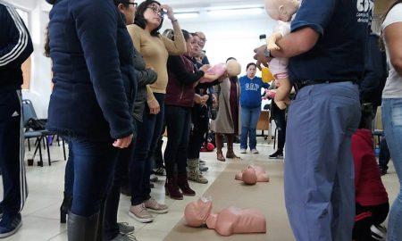 capacitación,personal educativo,emergencias