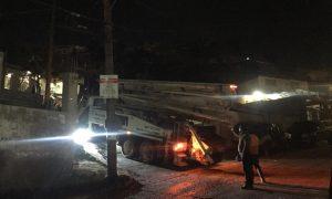 Tras accidente un hombre muere electrocutado en Camino Verde