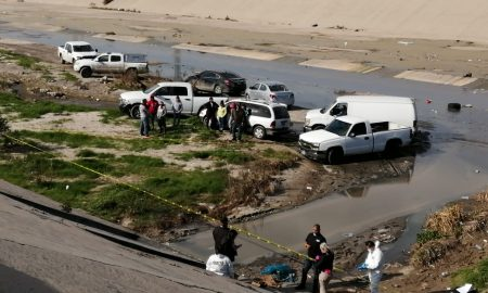 cuerpo, canalización del Río Tijuana,Todos somos Carrillo