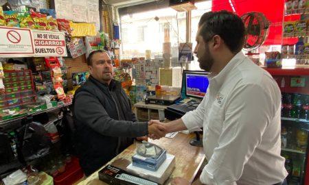 comerciantes,colonia Libertad,detectores de humo