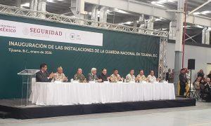 Inauguran Guardia Nacional en Tijuana