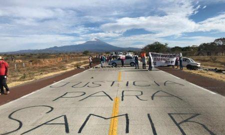 activistas, bloqueo, autopista, criminalización, México