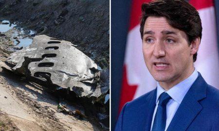 Justin Trudeau, Irán, avión, Canadá