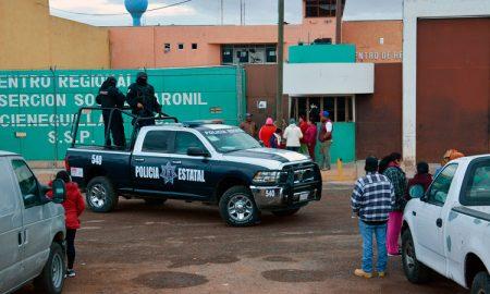 Cieneguillas, Zacatecas, penal, riña, muertos