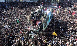 Qasem, Soleimani, funeral, Irán, estampida, muertos