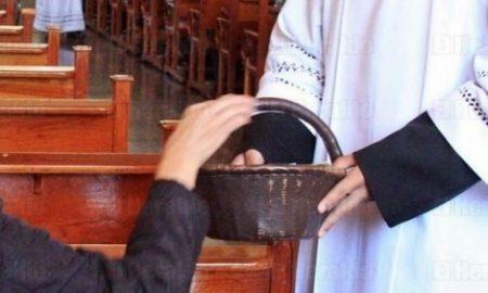 iglesia católica diezmo salario noticia