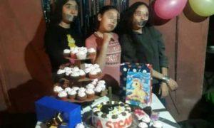 menor, cumpleaños, fiesta, narcotráfico