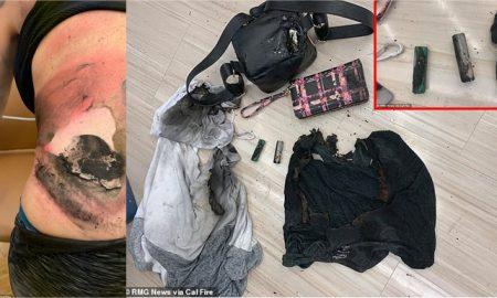cigarro electrónico explosión California