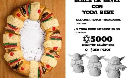 Baby Yoda panadería rosca