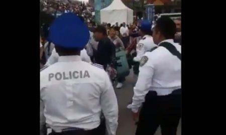 comerciante, piso, mujer, policia, cdmx