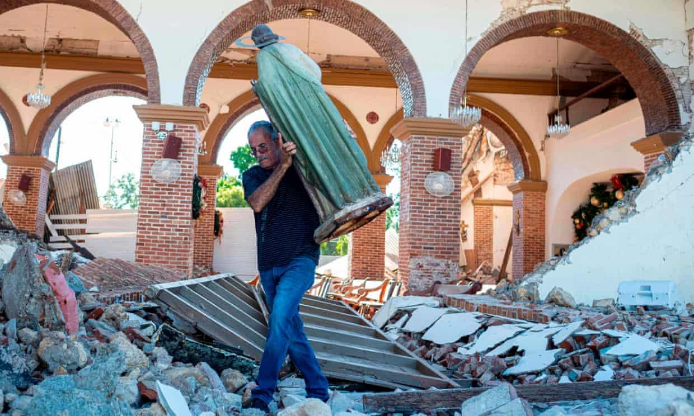 electricidad terremoto