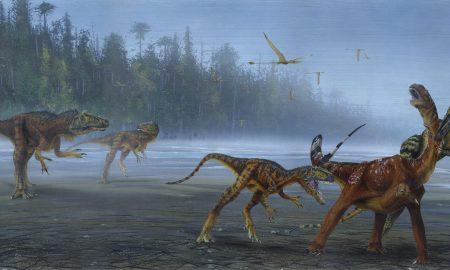 Especie, dinosaurio, Utah