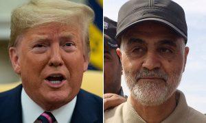 Irán, Irak, EEUU, Trump