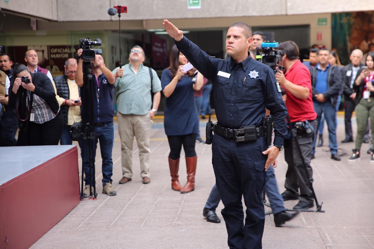 nuevo director policía municipal