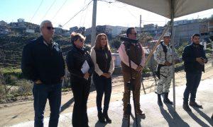 pavimentación, Tecate, Jaime Bonilla, Baja California, obras públicas