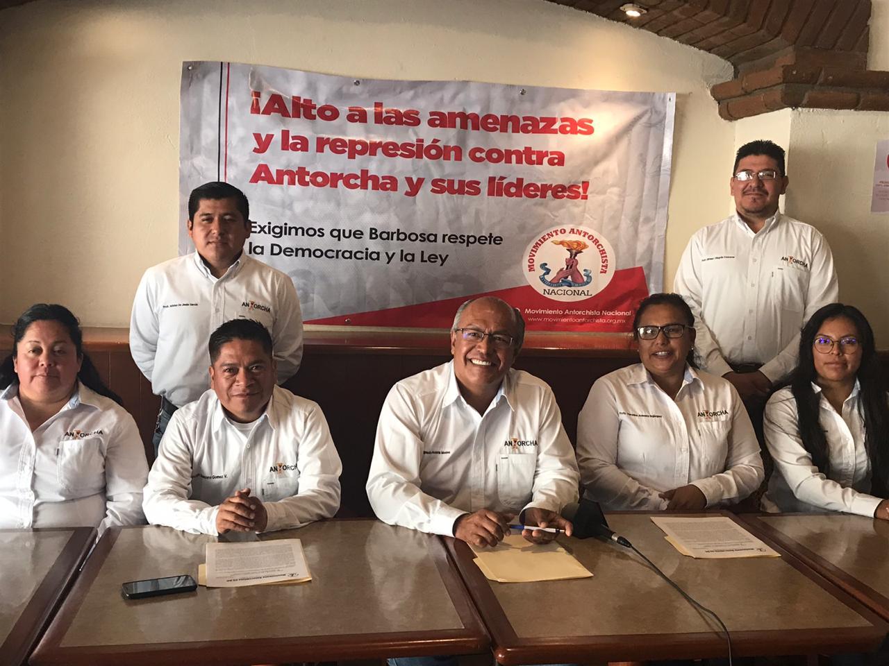 movimiento antorchista, Puebla, partido político,
