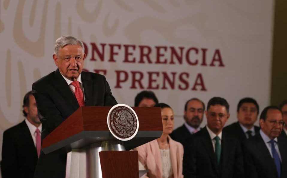 AMLO, conferencia de prensa, Ley de Confianza Ciudadana, extorsiones, Carlos Salazar Lomelín, CCE