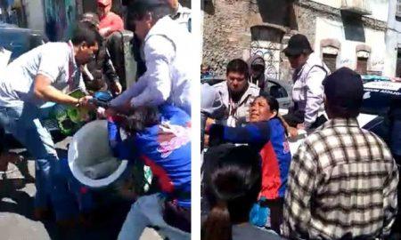 servidores públicos, violencia, derechos humanos, mercancía, CNDH, Puebla