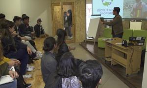 jóvenes emprendedores, residuos contaminantes, reciclaje,