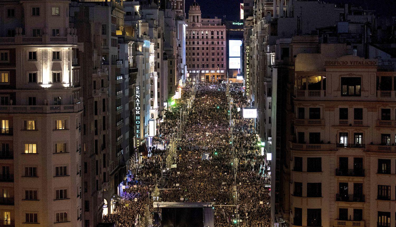 8M, Internacional, España, Madrid, violencia contra la mujer, feminismo, feminicidios, manifestación