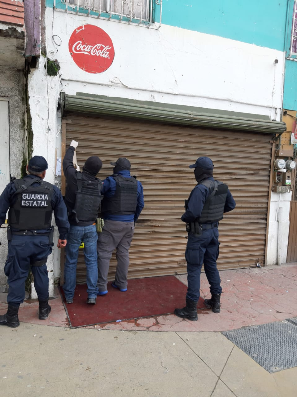 GESI, policiaca, máquinas, drogas