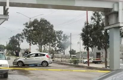 accidente vehicular, bulevar Díaz Ordaz, Muerto,