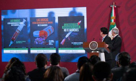 México, nacional, drogas, sustancias, adicción, AMLO, conferencia matutina