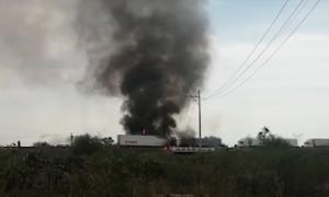 Guanajuato, bloqueos, autos, incendios, Celaya, Salamanca, armas de fuego