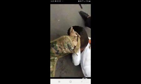 Hombre, sometido, asalto, mujeres, pistola, video, viral